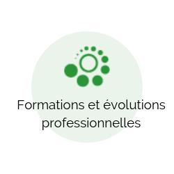 Formations et évolutions professionnelles